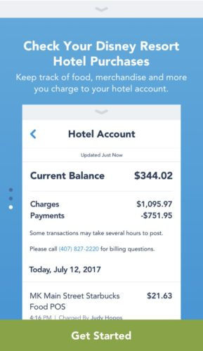 Track Your Dining Credits and More with Latest My Disney Experience Update 4