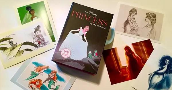 Disney Princess Postcard Box