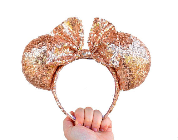 Get Your Rose Gold Minnie Ears Fix With These Handmade Beauties 2