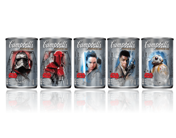 Star Wars Campbell's Soup Cans
