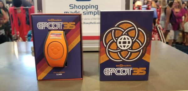 Limited Edition Magic Bands and Buttons for Epcot's 35th Anniversary 6
