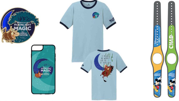 exclusive DVC Moonlight Magic event merchandise