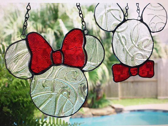 Disney Inspired Suncatchers
