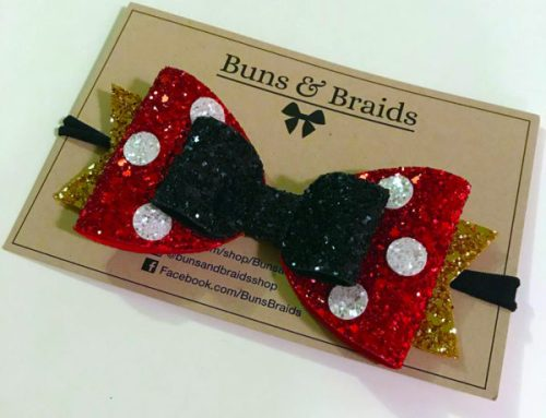 These Sparkly Disney Character Bows are Full of Shimmer and Sass 2