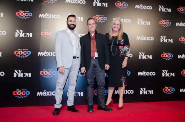 """Coco"" Filmmakers & Gael García Bernal Welcomed At Morelia International Film Festival 2"