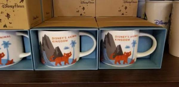Starbucks Animal Kingdom Mugs
