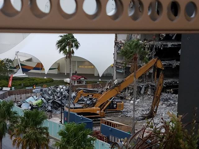 Photos Show DisneyQuest Demolition Under Way At Disney Springs To Make Room For New NBA Experience 4