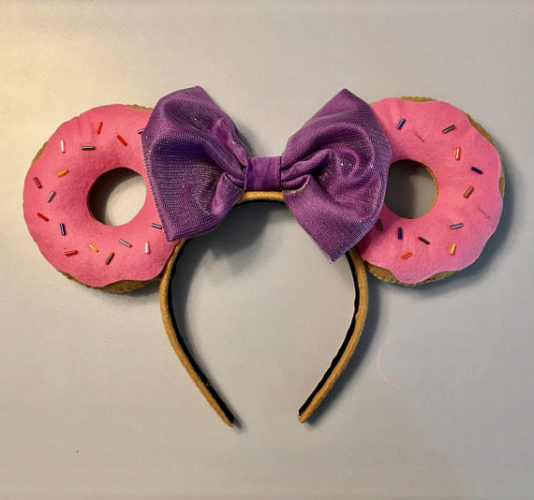 Donut Minnie Mouse Ears