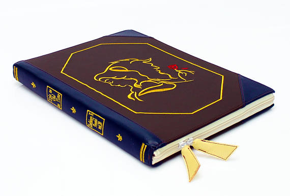 Beauty and the Beast laptop case