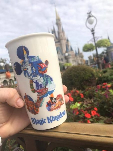 Starbucks Magic Kingdom Tumbler