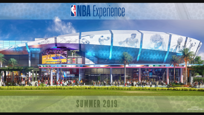 Disney Offers a First Look at NBA Experience Coming To Disney Springs in 2019 2