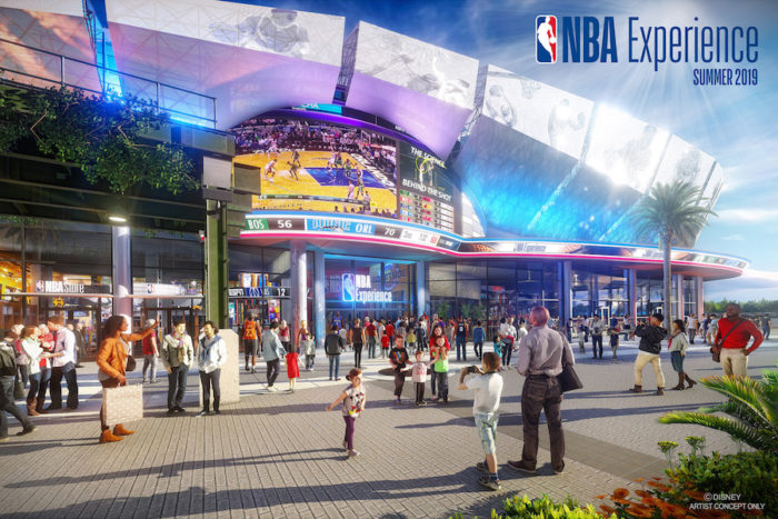 Disney Offers a First Look at NBA Experience Coming To Disney Springs in 2019 1