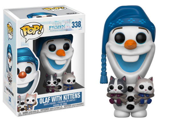Olaf With Kittens Funko POP Figure