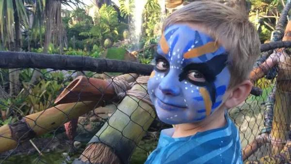 Halloween Make-up Tips From Pandora - The World of Avatar 1