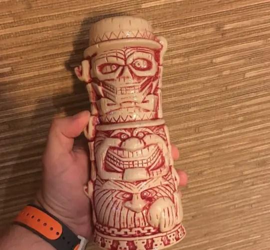 Haunted Mansion Hitchhiking Mug Now Available at Trader Sam's at Walt Disney World 1