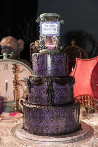 Celebrate With This Haunted Mansion Inspired Wedding Cake 1