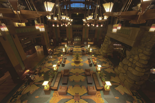 Get a Closer Look at the Grand Hall Lobby at Disney's Grand Californian Hotel & Spa at the Disneyland Resort 2