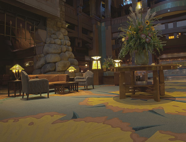 Get a Closer Look at the Grand Hall Lobby at Disney's Grand Californian Hotel & Spa at the Disneyland Resort 4