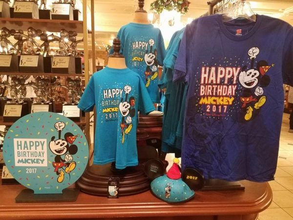 Happy Birthday Mickey Merchandise