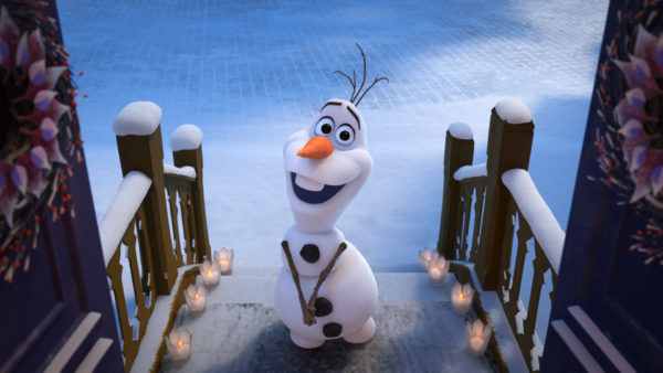 Celebrate the Holidays with Olaf's Frozen Adventure! 1