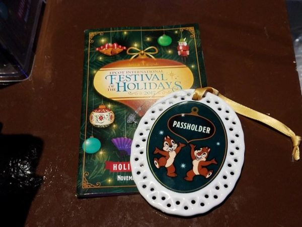 Epcot Festival of Holidays Merchandise