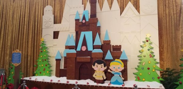 Cinderella Castle Gingerbread House Is Now On Display At The Contemporary Resort 1