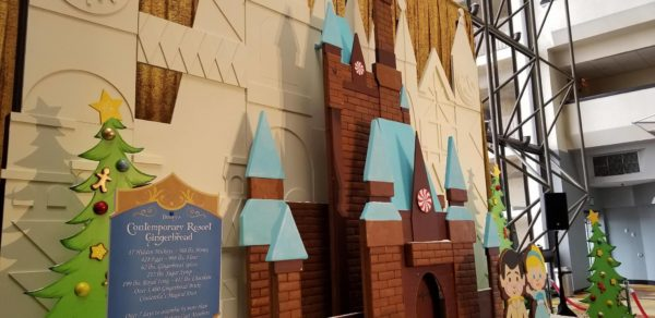 Cinderella Castle Gingerbread House Is Now On Display At The Contemporary Resort 2
