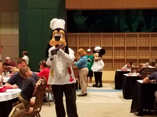 Chef Mickey's Temporarily Relocated To Convention Center During Refurbishment 12