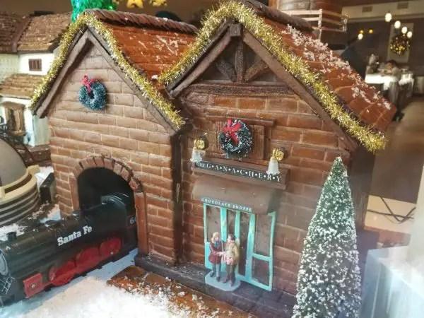 New Gingerbread Window Display at Amorette's Patisserie in Disney Springs 2