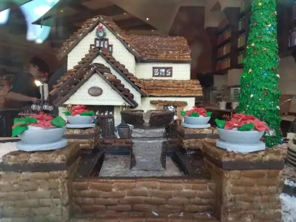 New Gingerbread Window Display at Amorette's Patisserie in Disney Springs 1