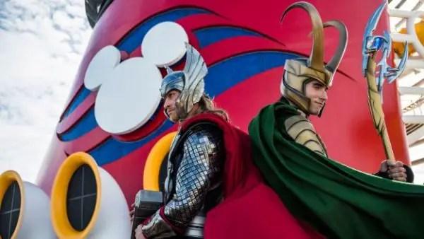 Loki sets sail