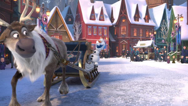 Celebrate the Holidays with Olaf's Frozen Adventure! 4