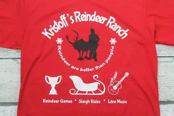 Kristoff's Reindeer RanchTee