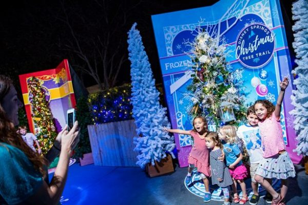 Disney Springs Christmas Tree Trail Now Has Extended Hours 1