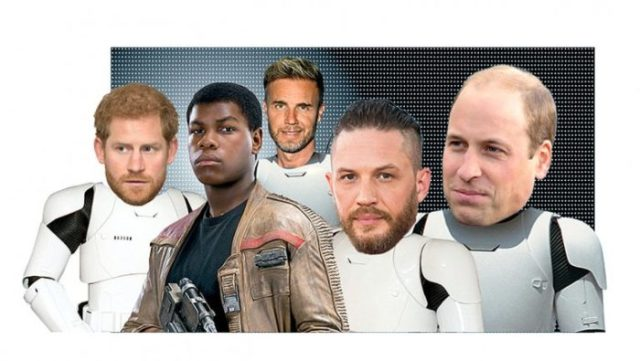 Princes Harry and William May Play Stormtroopers in New 'Star Wars' Film 3
