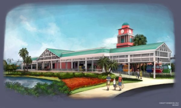 More Photos and Details for Disney World's New Disney Skyliner Released 3