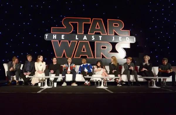 Last Jedi Press Conference