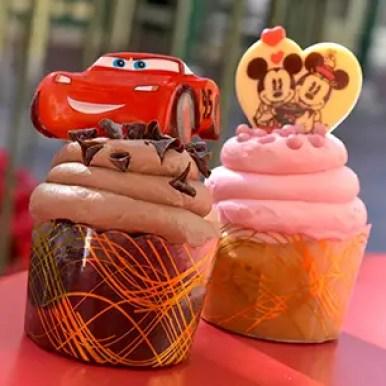 Magic Kingdom Cupcakes