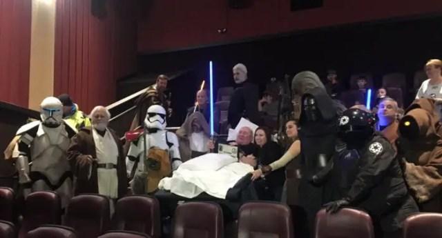 Star Wars Fan Dying Wish