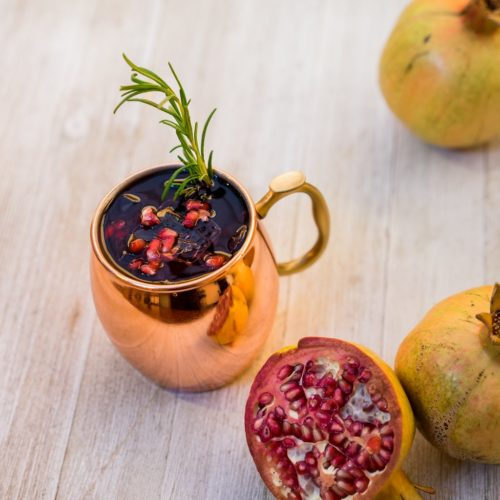 The Pomegranate Mule at California Adventure's Festive Foods Marketplace is the Perfect Holiday Tipple 1