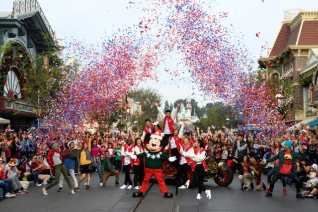 'Disney Parks Magical Christmas Celebration' Airs Christmas Morning With Celebrity Performances 9
