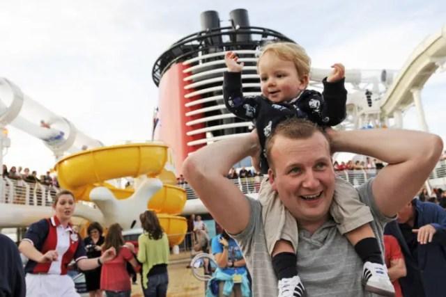 Disney Cruise Line Families