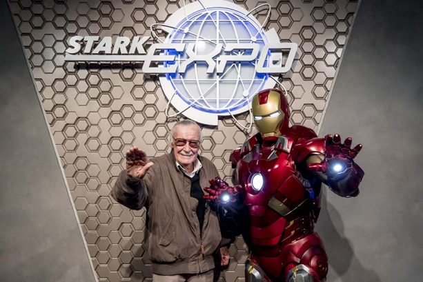 Stan Lee Takes On The Iron Man Experience At Hong Kong Disneyland 2