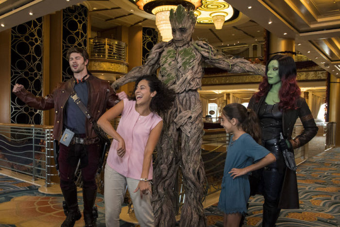Star-Lord, Gamora, Groot, and Iron Man Make First Official Appearance During Marvel Day at Sea 3