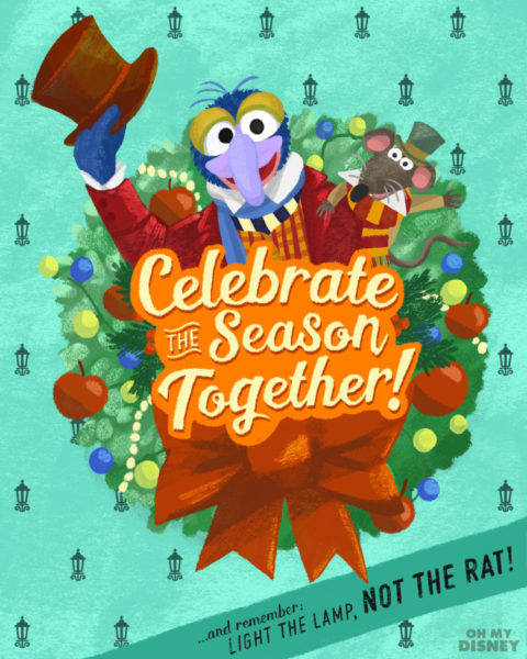 The Muppets Christmas Carol Holiday Cards