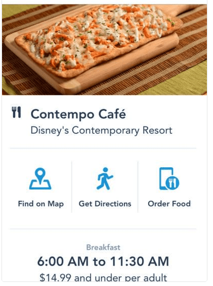 Mobile Ordering Now Available at Contempo Cafe 1