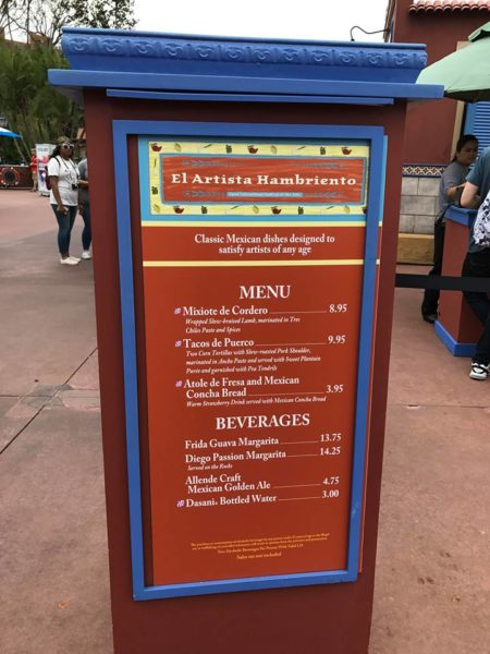 PHOTOS: 2018 Epcot International Festival of the Arts Booths, Menus and Food 20