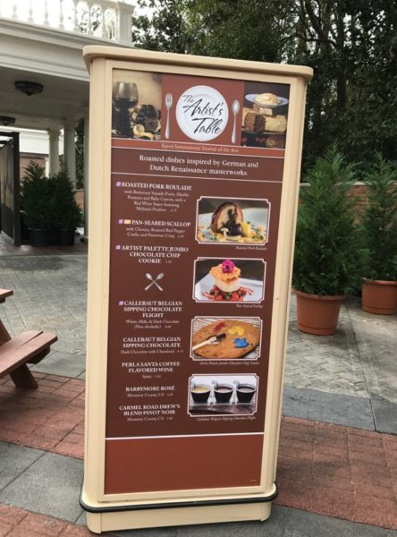 PHOTOS: 2018 Epcot International Festival of the Arts Booths, Menus and Food 35