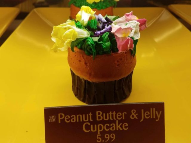 Peanut Butter and Jelly Cupcake at Sunshine Seasons 1