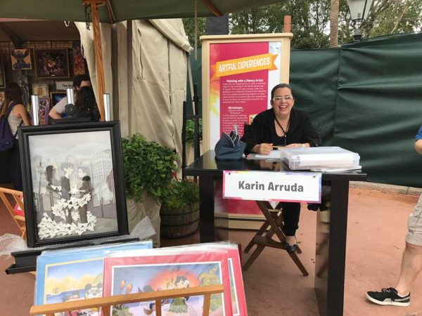 The Art and Decorations of Epcot's International Festival of the Arts 25